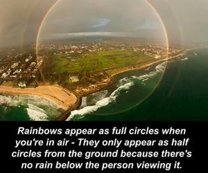 heaven, knowledge, and rainbows image