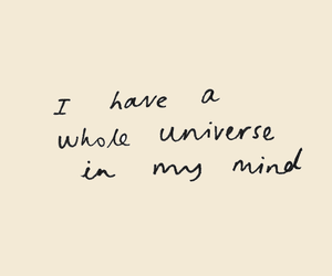 header, universe, and quotes image