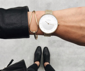 fashion, watch, and outfit image