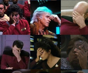 star trek and face palm image