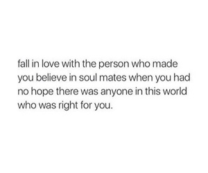 quotes, soul mates, and love image