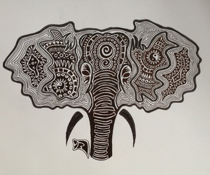 africa, art, and black and white image