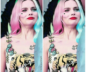 harley quinn, bad girl, and margot robbie image