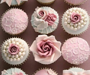 food, cupecake, and sweet image