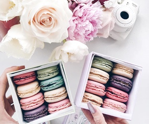 colors, neon, and ‎macarons image