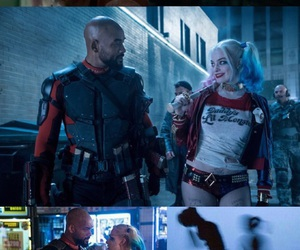 harley quinn, lockscreen, and deadshot image