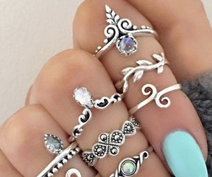 bling, fashion, and makeup image