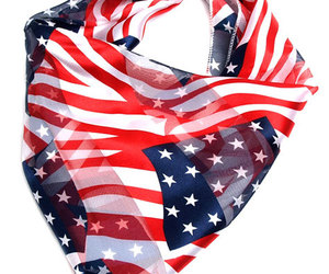 american, scarf, and colour image