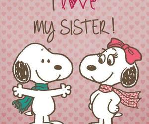 love, sister, and brothers image