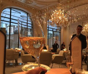 luxury, champagne, and restaurant image
