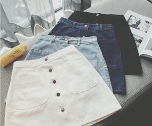 skirt and fashion image