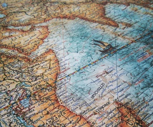 africa, art, and map image