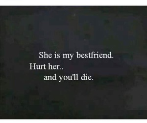 die, best friends, and hurt image