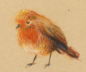 art, baby bird, and bird image