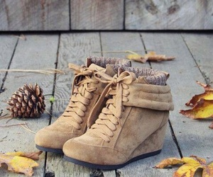 shoes, boots, and autumn image