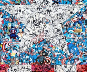 Marvel, captain america, and comic image