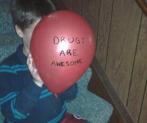 drugs, awesome, and balloons image