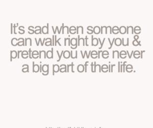 quote, life, and sad image
