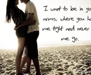 love, couple, and quotes image