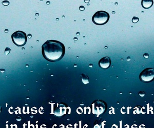 songs, water, and castle of glass image
