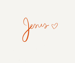 jesus, love, and god image