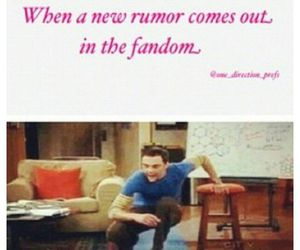 fandom, one direction, and rumors image