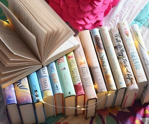 books, pretty, and not mine image