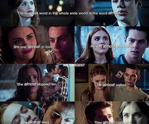 die, teen wolf, and lydia image