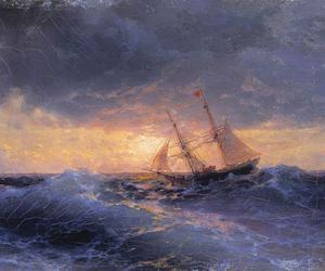 ivan aivazovsky and russian romantic painter image
