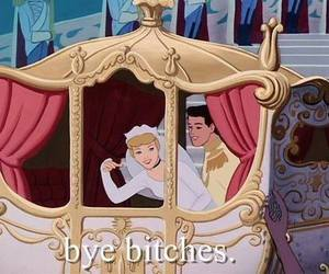 cinderella, bitch, and disney image