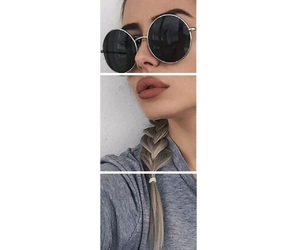 girl, lip, and mouth image