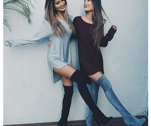 alternative, best friends, and ootd image