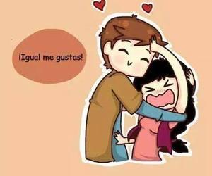 amor, tu y yo, and novios image