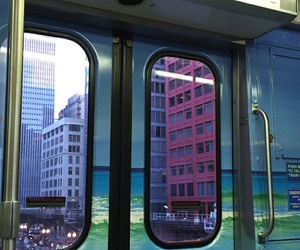 grunge, city, and train image