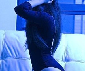 girl, sexy, and swag image