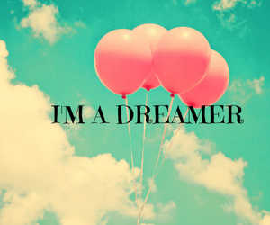 Dream, dreamer, and balloons image