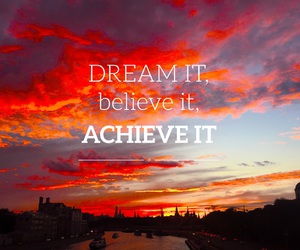 believe, Dream, and easel image