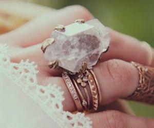 ring, rings, and boho image