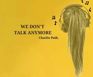 enjoy, yellow, and charlie puth image