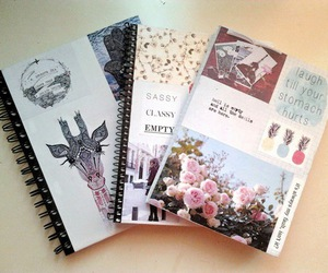 notebook, school, and diy image