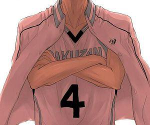 anime, kuroko no basket, and akashi seijuro image