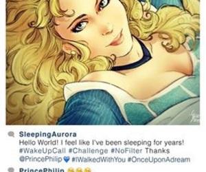disney, princess, and sleep image