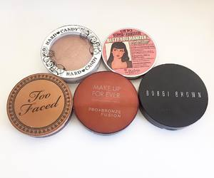 cosmetics, makeup, and bronzers image