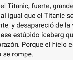 bonita, titanic, and iceberg image