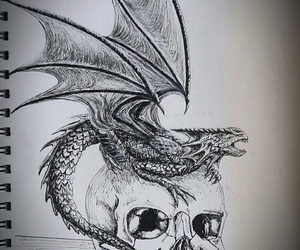 dragon and draw image