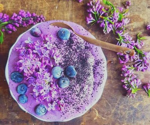 food, fruit, and purple image