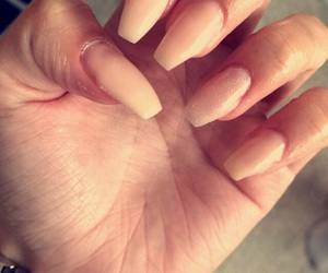 Nude, gelnails, and longnails image