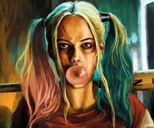 harley quinn, suicide squad, and wallpaper image