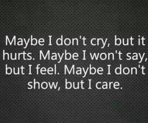cry, quote, and hurt image