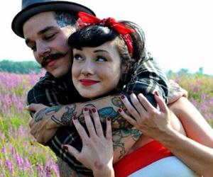 couple, hug, and photography image